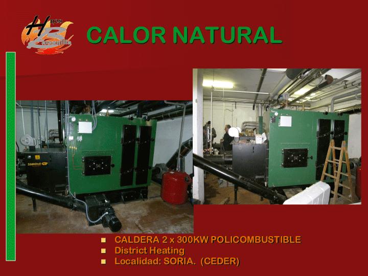 Instalaciones de Biomasa